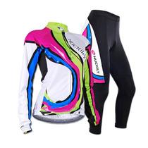 Conjunto De Jersey Y Pants Para Ciclismo Mujer Todas Tallas