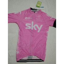 Uniforme Ciclismo Equipo Sky Rosa Mujer / Niña Talla Chico