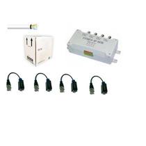 Oferta Del Mes Bobina Utp Cat5 Kit Transceptores 4 Cams Hm4