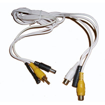 Microfono Amplificado 12vdc 56db Con I /0 Audio-video. Hm4
