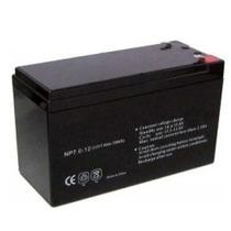 Bateria De Respaldo De 12volts-saxxon Uutpbat7ah-negro +c+