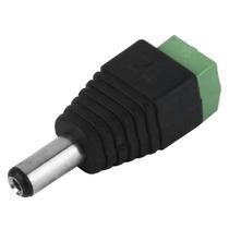Conector De Coriente Bnc Cctv Macho A24m