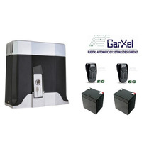 Motor Para Automatizar Porton Corredizo Con Bateria De Resp.