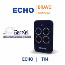 Control Remoto Genius Echo Bravo Tx4 433mhz   Merik Milord  