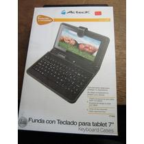Funda Con Teclado Para Tablet 7 Acteck Ft-900