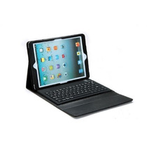 Funda Piel Teclado Bluetooth 3.0 Ipad Air + Mica + Stylus