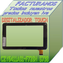 Touch Screen Digitalizador Para Table Czy6411 F728h