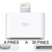 Adaptador De 8 A 30 Pines Para Iphone 5 Ipod 5 Ipad Mini Hm4