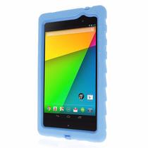 Funda Google Nexus 7 (2013) Gota Tecnología Azul