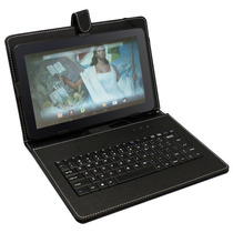 Funda Con Teclado Qwerty Para Tablet 10.1 Compatible Sep Mx