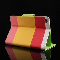 Funda Protector Apple Ipad Mini Retina 2 Mayoreo Piel Oferta