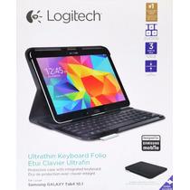 Teclado Y Funda Bluetooth Para Galaxy Tab4