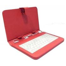 Funda Teclado Para Tablet 7 Pulgadas Varios Colores Otg Msi