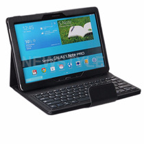 Teclado Bluetooth Y Funda Para Samsung Galaxy Note Pro 12.2