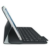 Funda Logitech Con Teclado Para Ipad Mini 3/2 Y Mini Negro