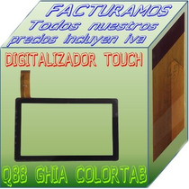 Digitalizador Touch Tablet China Q8 Q88 Allwinner A13
