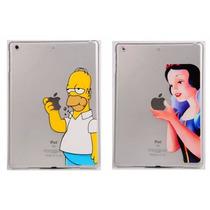 Funda Crystal Case Homero Simpsons Princesas Ipad Mini 1 2 3