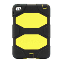Funda Ipad Mini 4 Survivor All-terrain Negra Amarilla
