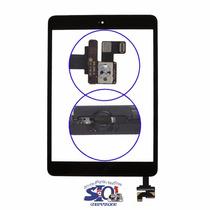 Touch Digitalizador Ipad Mini 1 2 Boton Home Ic Conector