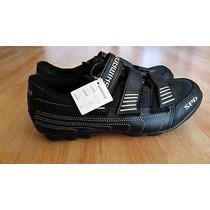 Zapatillas Ciclismo Shimano Mtb 2 Hoyos 24.5 Nuevas A Meses