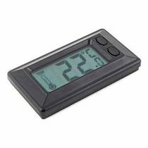 La Temperatura Del Termómetro De Pared Cubierta Lcd Digital