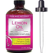 Pure Naturals Cuerpo Grado Terapéutico No Diluido Esencial D