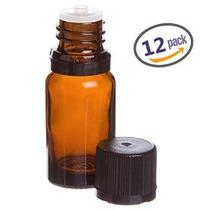 Lisse Esencial 10 Ml De Vidrio Ámbar Botella De Aceite Esenc