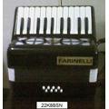 Acordeon Infantil Farinelli 22 Teclas 8 Bajos Varios Colore