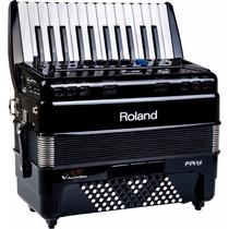 Acordeon Roland Fr1x Negro 26 Teclas Tipo Piano Envío Gratis