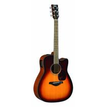 Guitarra Electro Acustica Yamaha Fgx700sc Vv4