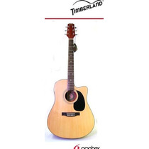 Guitarra Electroacústica Timberland Tw200ceq Natural Msi!