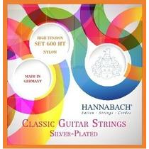 Hannabach 600ht Alemania Cuerdas Guitarra Clásica Hm4