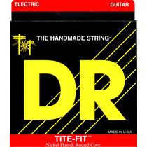 Dr Tite-fit Bt-10 10-52 Cuerdas Finas Guitarra Eléctrica