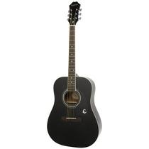 Guitarra Acústica Epiphone Color Ebano