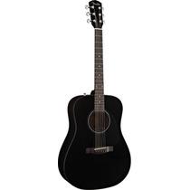Guitarra Acústica Fender Cd-60 Con Estuche Color Negro