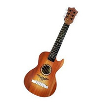 Feliz Tune 6 Cuerdas Acústica Juguete Guitarra Para Niños Co