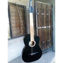 Guitarra Rockera Acustica Santa Cruz