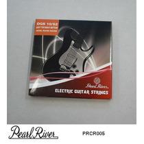 Juego De Cuerdas Pearl River Para Guitarra Electrica