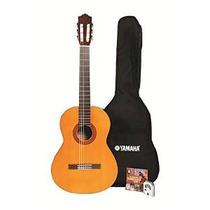 El Paquete De La Guitarra Clásica Acústica Yamaha C40 Gigmak