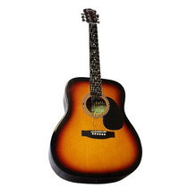Guitarra Texana Campero Color Sunburst Electro Acustica