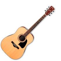 Guitarra Acústica Ibañez Artwood Negra Aw70 Nt