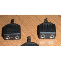 Haz Negocio! Lote 9 Pza Adaptador Conector Dual Audifono E4f