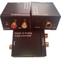 Convertidor De Audio Digital A Rca(analogo) Mdn