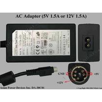 Adaptador Eliminador De Corriente 5 Pin Apd Da-30c01 5v-12v