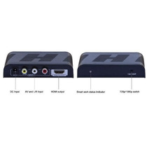 Convertidor Video Audio Rca A Hdmi Hdtv 720p 1080p Nuevo Hm4