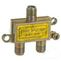 Divisor Splitter 2 Vías Para Sistemas Sky, Dish, Tv, #45