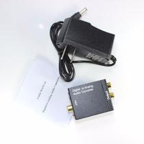 Convertidor De Audio Digital ( Toslink) Hacia Análogo ( Rca)