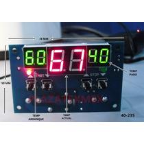 Termostato Digital Programable Horno Incubadora Terrario