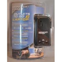 Monster Cable To Go 3 Cargador P/portátiles Y Conector Luz