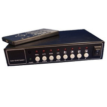 Switch Video Cctv Quad Splitter Pip Conecta 8 Camaras Nuevo